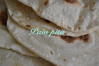 recette pain pita