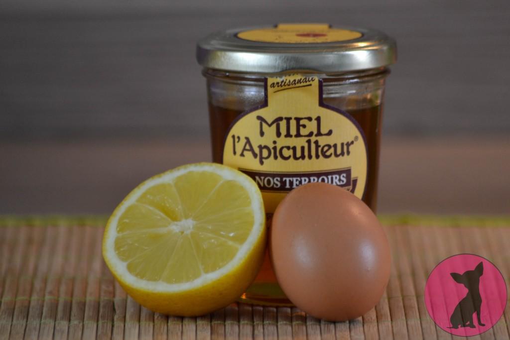 citron miel oeuf