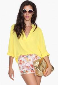 couleur jaune pastel sheinside