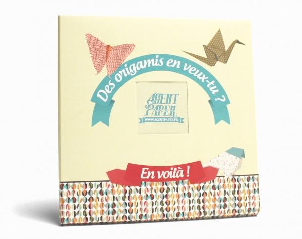 papier à origami agent paper