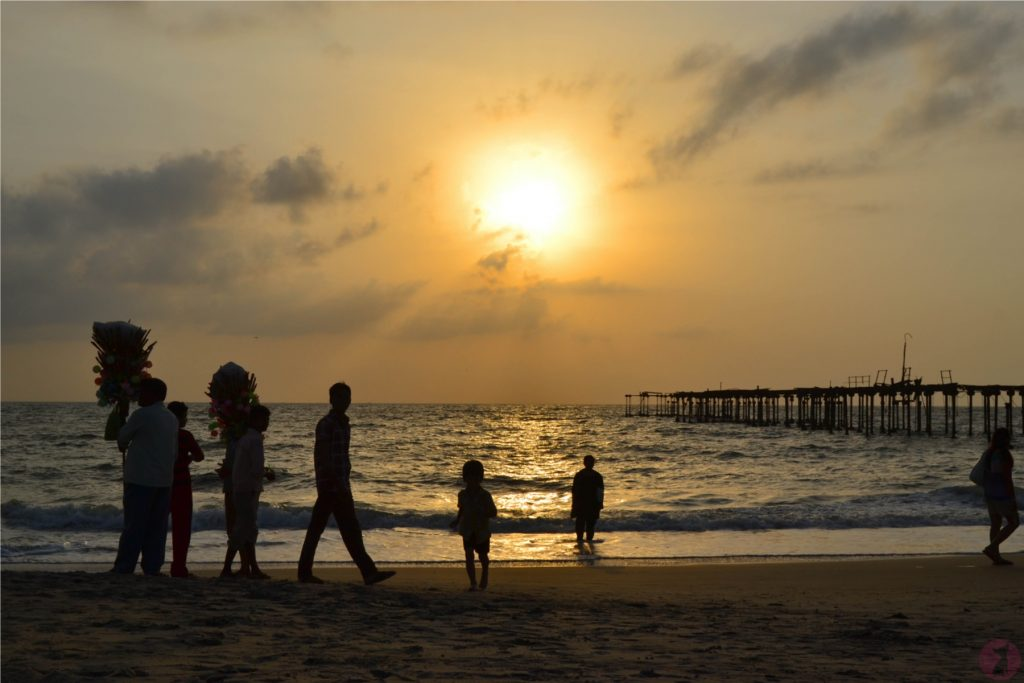 Sunset Alleppey Beach