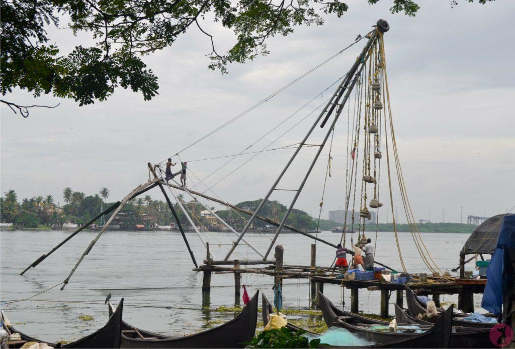 Pêcheurs Fort Kochi