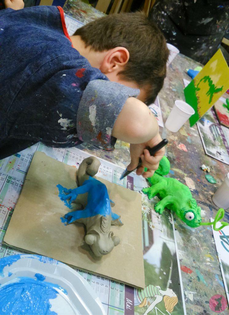 atelier mère enfant Lézard créatif