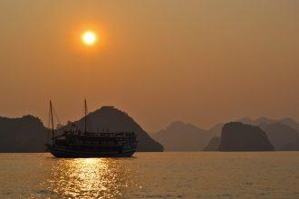 Le vietnam - Halong bay