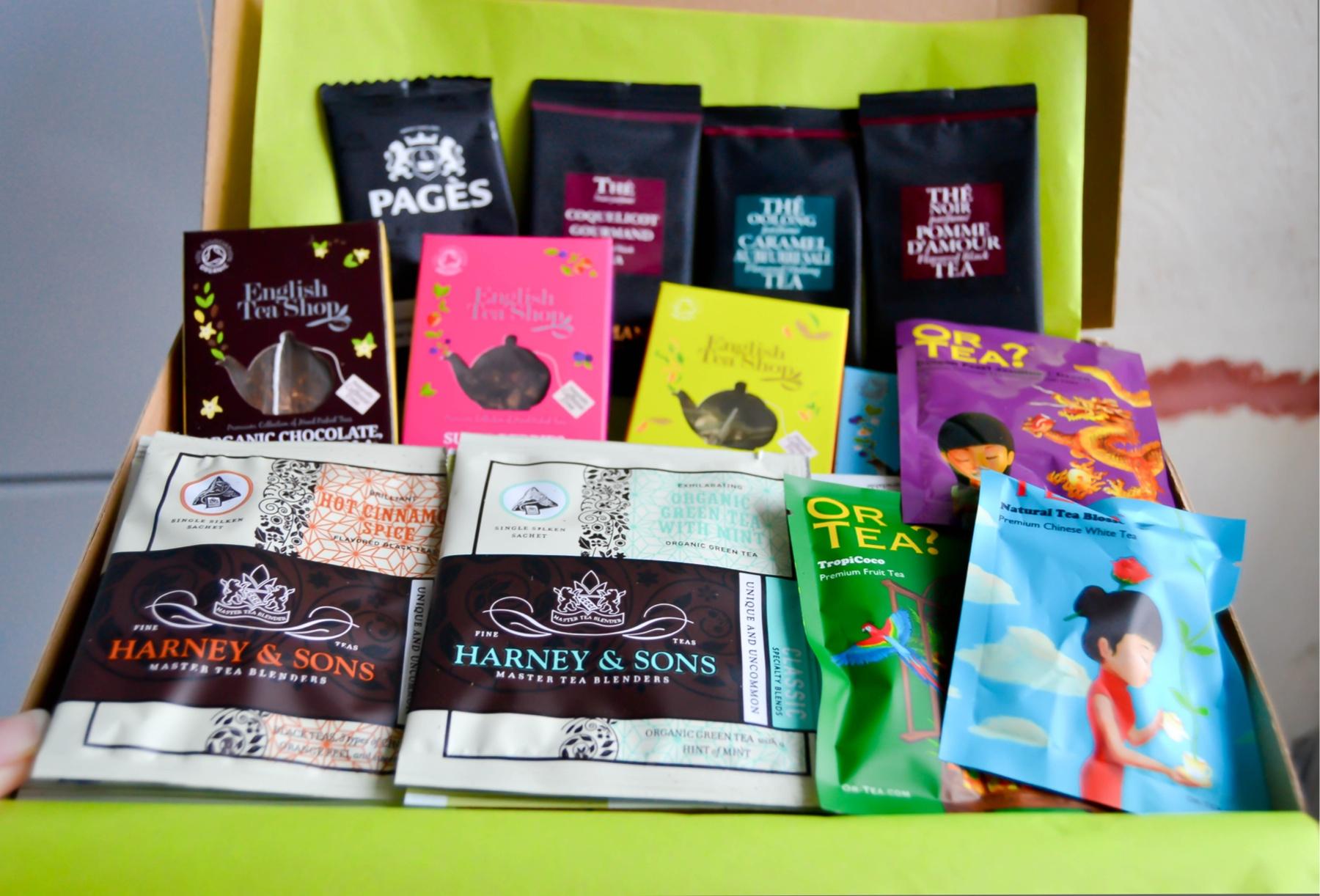 les meilleurs thés en sachet
