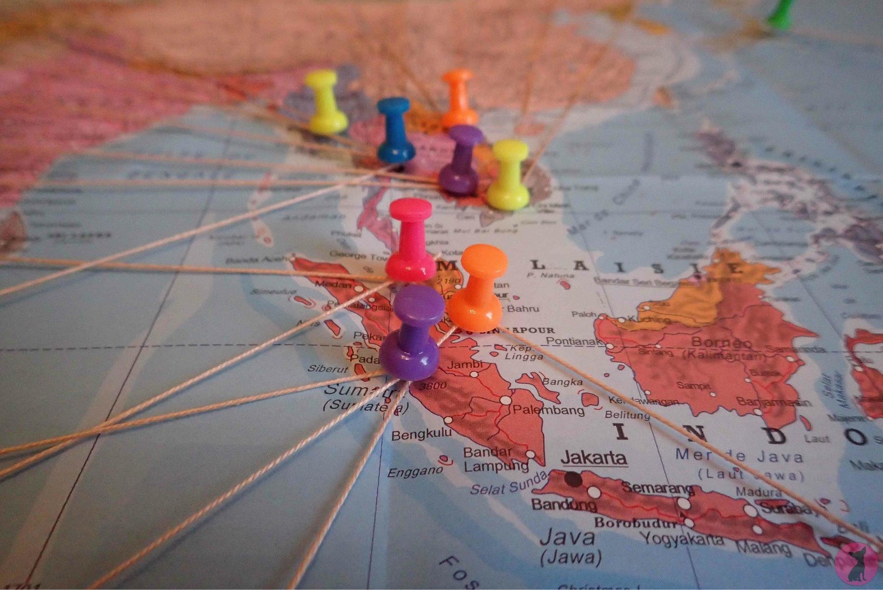 DIY épingler mes souvenirs de voyage