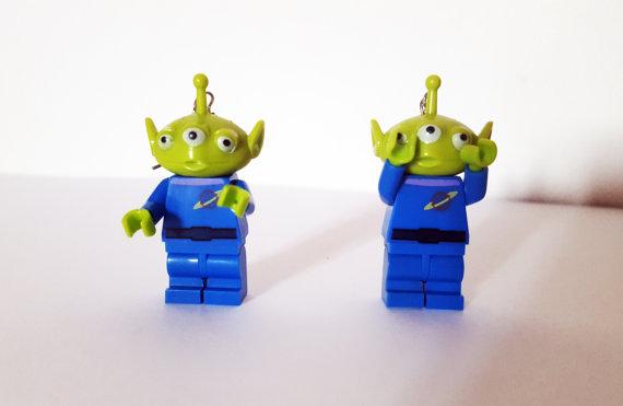 Boucles d'oreilles Aliens Toy story