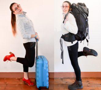 sac à dos ou valise pour voyager