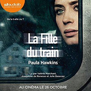 livre audio la fille du train
