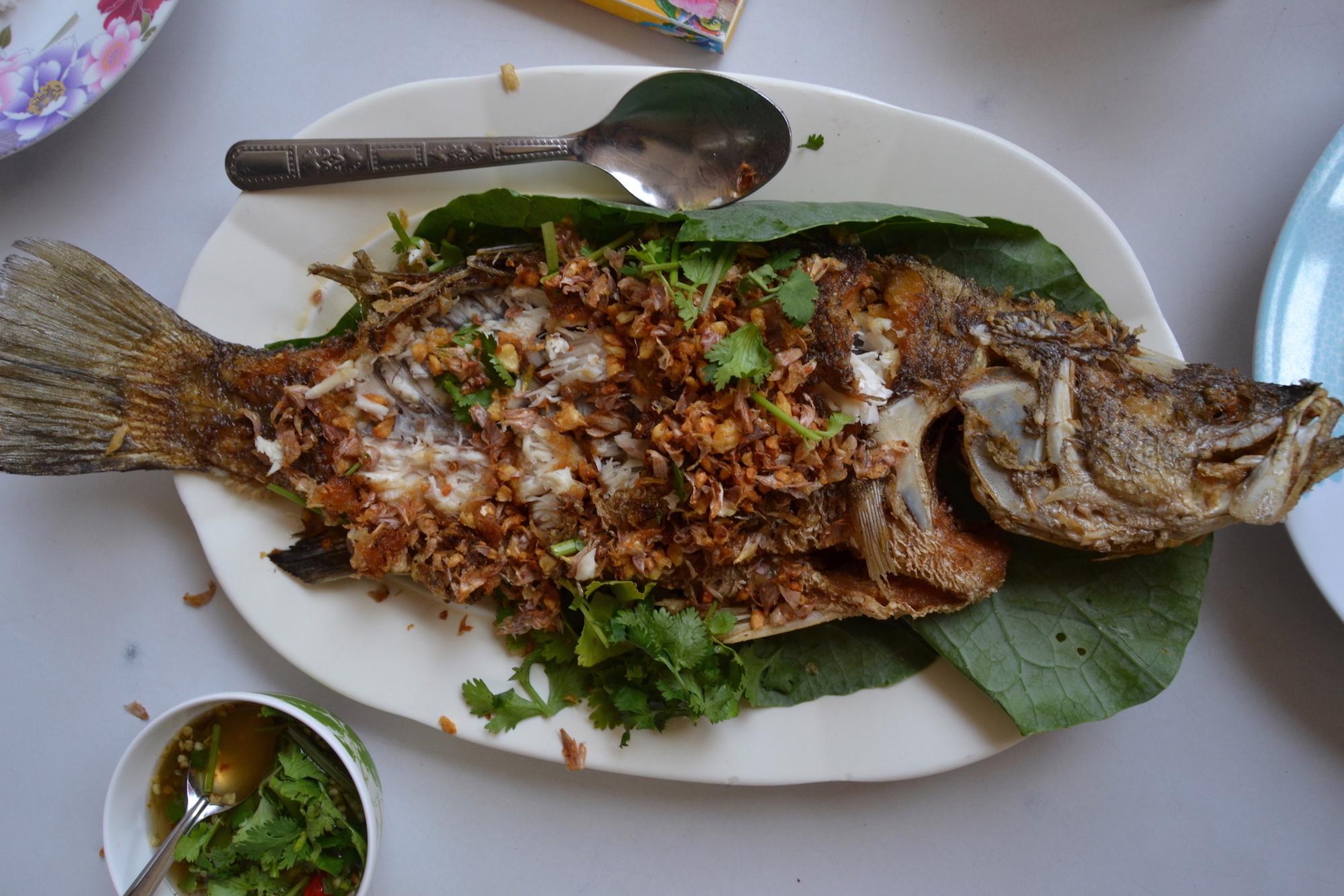 Poisson Grillé Thaïlande
