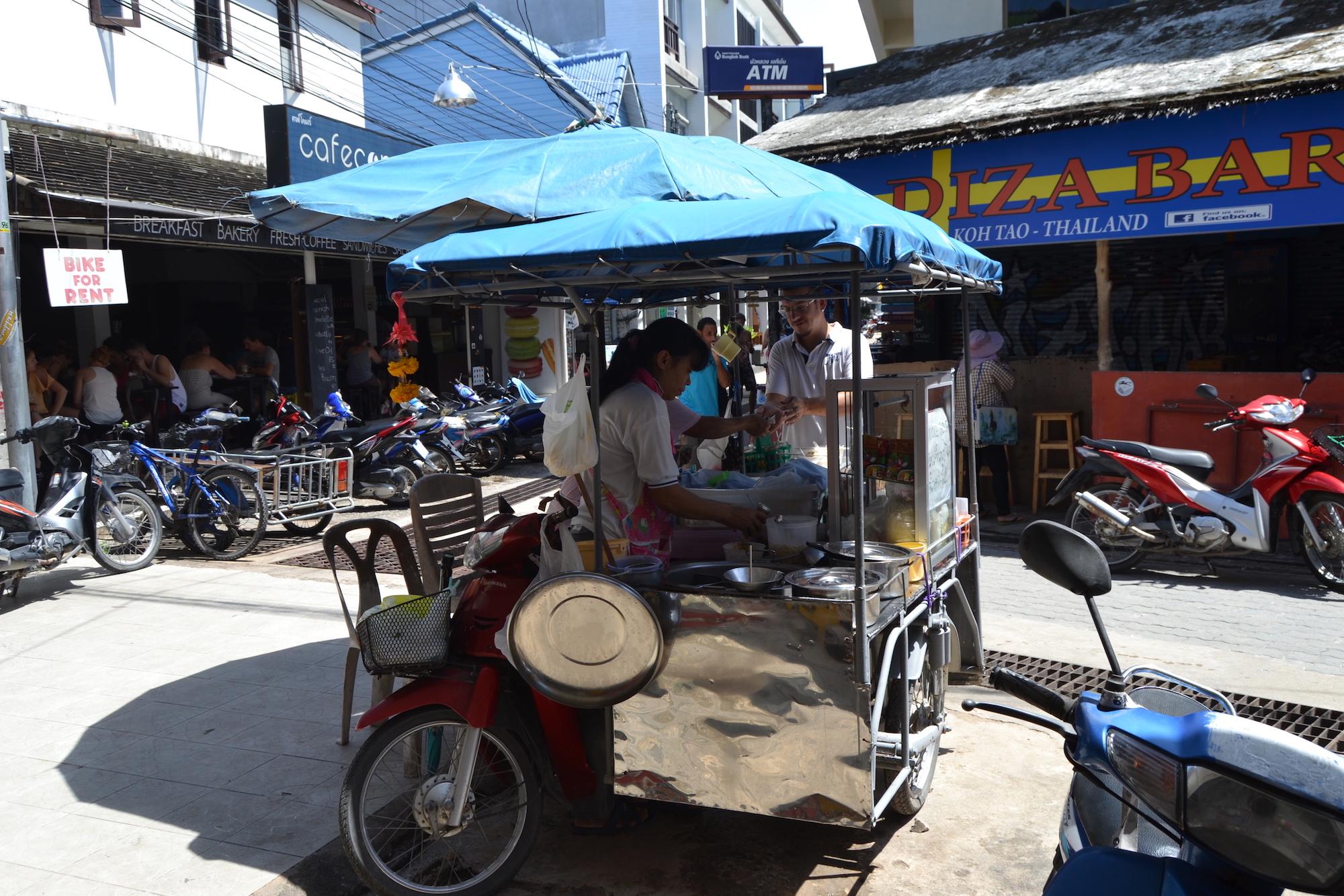 Noodle soup Koh Tao