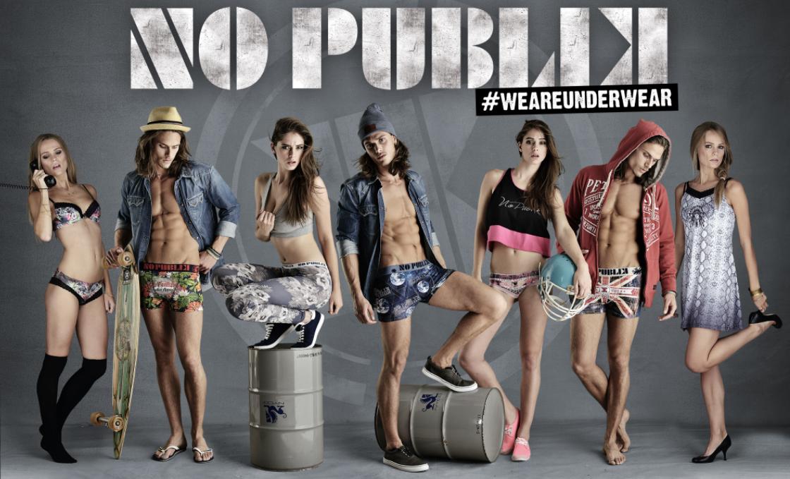 underwear no publik