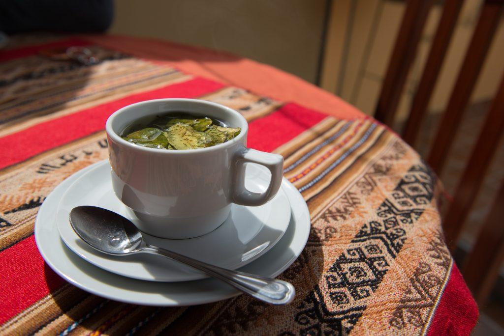 Gastronomie Péruvienne-Mate de coca