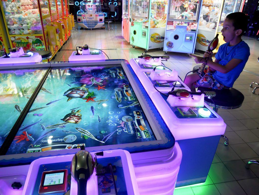 arcade de jeux en Thaïlande