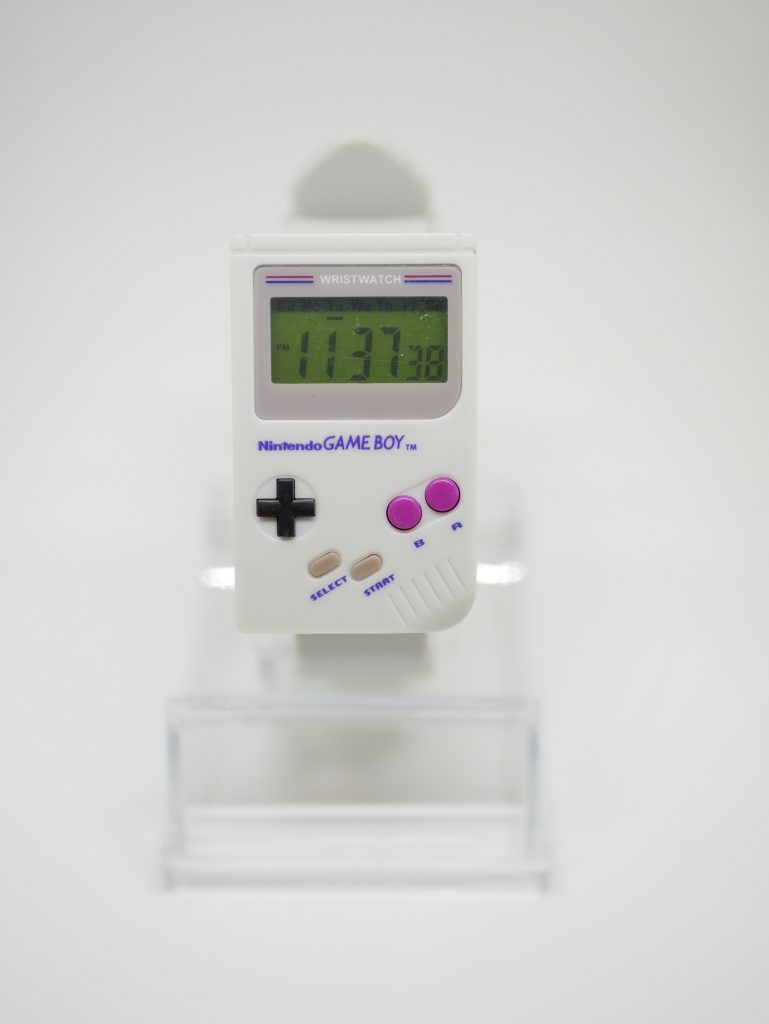 montre gameboy