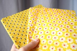 DIY BEE WRAP : COMMENT REMPLACER LE CELLOPHANE ET L'ALUMINIUM