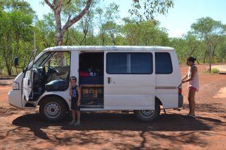 voyager en van en Australie