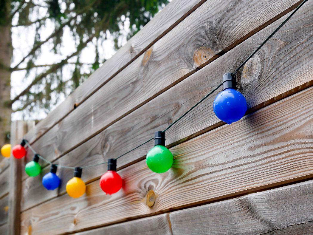 Idee Deco Guirlande Exterieur guirlande solaire extérieur : comment aménager son jardin